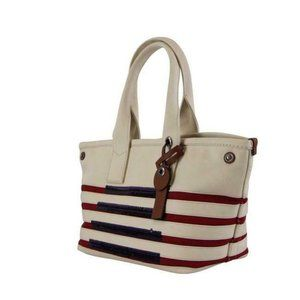 Marc By Marc Jacobs USA White Red Blue Sequin Tote